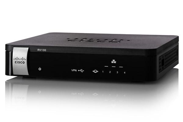 Cisco RV130 Ethernet LAN Black