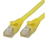 Microconnect UTP cat6 10m 10m Yellow networking cable