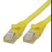 Microconnect UTP cat6 10m 10m Yellow