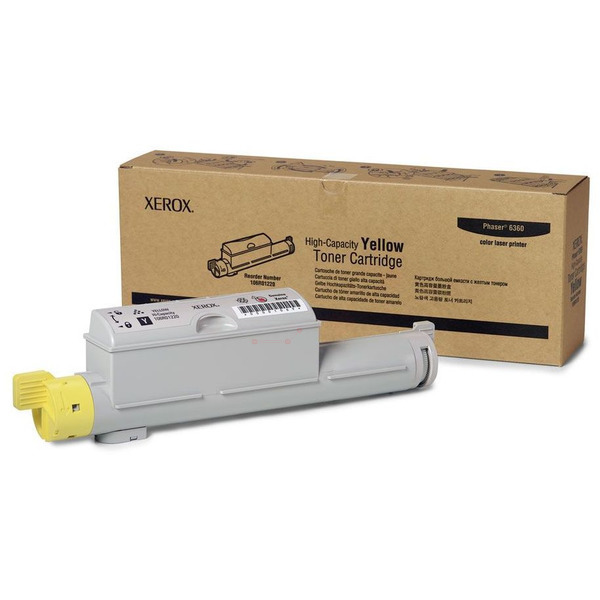Xerox 106R01220 Toner yellow, 12K pages @ 5% coverage