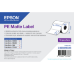 Epson PE Matte Label - Die-cut Roll: 102mm x 76mm, 365 labels