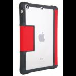 "STM dux 7.9"" Flip case Grey,Red,Transparent"