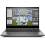 "HP ZBook Fury 15 G7 Mobile workstation 39.6 cm (15.6"") 1920 x 1080 pixels 10th gen Intel® Core™ i7 16 GB DDR4-SDRAM 256 GB SSD NVIDIA Quadro T1000 Wi-Fi 6 (802.11ax) Windows 10 Pro Silver"