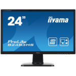 "iiyama ProLite B2483HS-B1 24"" Full HD TN Matt Black computer monitor"