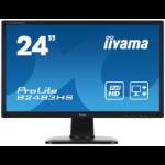 "iiyama ProLite B2483HS-B1 24"" Full HD Black computer monitor"