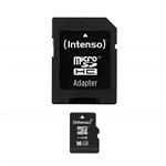 Intenso 16GB MicroSDHC 16GB MicroSDHC Class 10 memory card