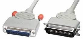 Lindy Printer Cable 2m 2m Grey printer cable