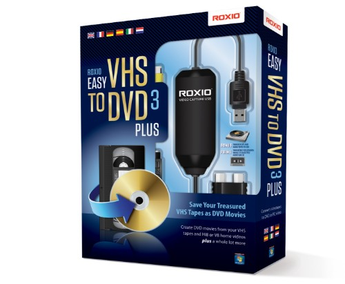 Corel Roxio Easy VHS to DVD 3 Plus video capturing device USB 2.0