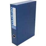 Rexel Colorado Foolscap Lockspring Box File Blue (5)