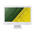 """Acer Aspire C20-720 1.6GHz J3710 19.5"""" 1600 x 900pixels White All-in-One PC"""