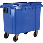FSMISC 1100L BLUE WHEELED BIN / LID 377394394