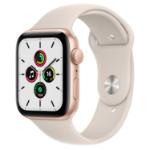 Apple Watch SE 44 mm OLED Gold GPS (satellite)