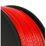 VERBATIM AMERICAS LL PLA 3D FILAMENT 1.75MM 1KG REEL RED