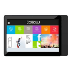 "BILLOW X101 V2 Tablet, 10.1"" IPS, Quad Core, 1GB, 8GB, WiFi, Android 7.1, Black, Charging by USB only"