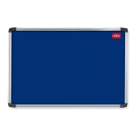 Nobo EuroPlus Felt Noticeboard Blue 1200x900mm