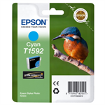 Epson C13T15924010 (T1592) Ink cartridge cyan, 17ml