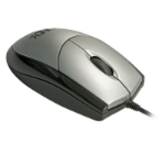 Lindy 20571 USB Optical 800DPI Black,Silver mice