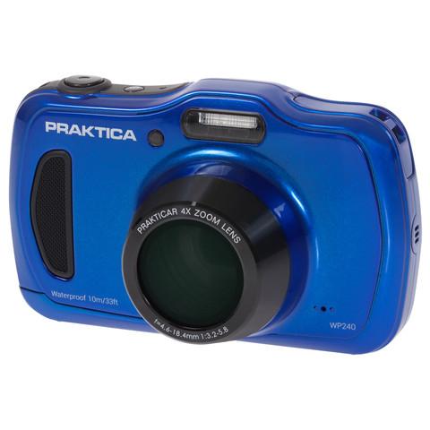 """Praktica Luxmedia WP240 20MP 1/2.3"""" CCD 5152 x 3864pixels Compact camera 1/2.3"""" 5152 x 3864 pixels Blue"""