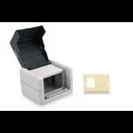 Digitus DN-93844-OD-2 outlet box RJ-45 Black, Grey
