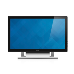 "DELL S2240T 21.5"" 1920 x 1080pixels Multi-touch Tabletop Black,Silver"