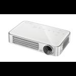 Vivitek Qumi Q6 Portable projector 800ANSI lumens DLP WXGA (1280x800) 3D Silver,White data projector
