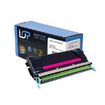 Click, Save & Print Remanufactured Lexmark C734A2MG Magenta Toner Cartridge