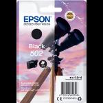 Epson 502 4.6ml 210pages Black ink cartridge C13T02V14010