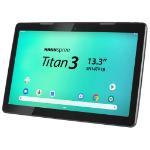 "Hannspree HANNSpad SN14TP1B2AS04 tablet 16 GB 33.8 cm (13.3"") Rockchip 2 GB Wi-Fi 4 (802.11n) Android 9.0 Black"
