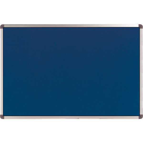 NOBO CLASSIC FELT NOTICEBOARD BLUE 450X600