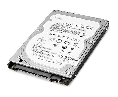 """HP 500GB SATA hard disk drive 2.5"""" Serial ATA"""