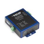 Black Box ICD115A serial converter/repeater/isolator RS-232/422/485 Fiber (ST) Black, Blue