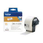 Brother DK-11208 P-Touch Etikettes, 38mm x 90mm, 400