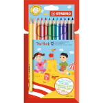STABILO Trio thick colour pencil Multicolour 12 pc(s)