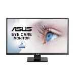 "ASUS VA279HAE LED display 68.6 cm (27"") Full HD Flat Black"