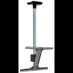 "Peerless MOD-FPSKIT150-CPF signage display mount 190.5 cm (75"") Black, Zinc"