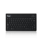 Adesso WKB-2000BB Bluetooth/Micro-USB Black mobile device keyboard