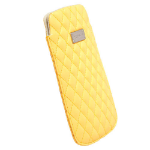 Krusell Avenyn 3XL Pouch case Yellow