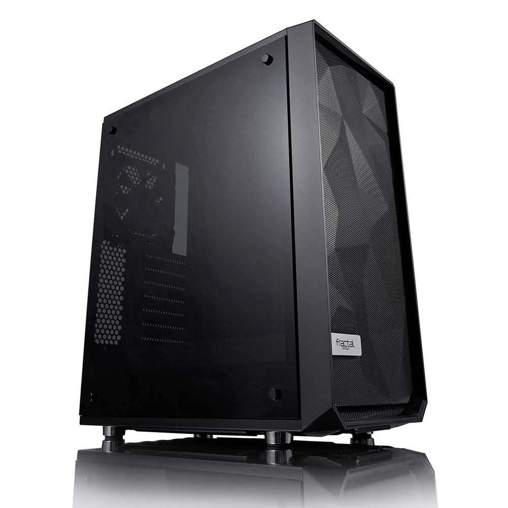 Fractal Design Meshify C Midi-Tower Black computer case