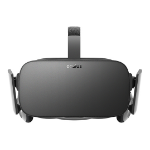Oculus Rift Dedicated head mounted display 470g Black