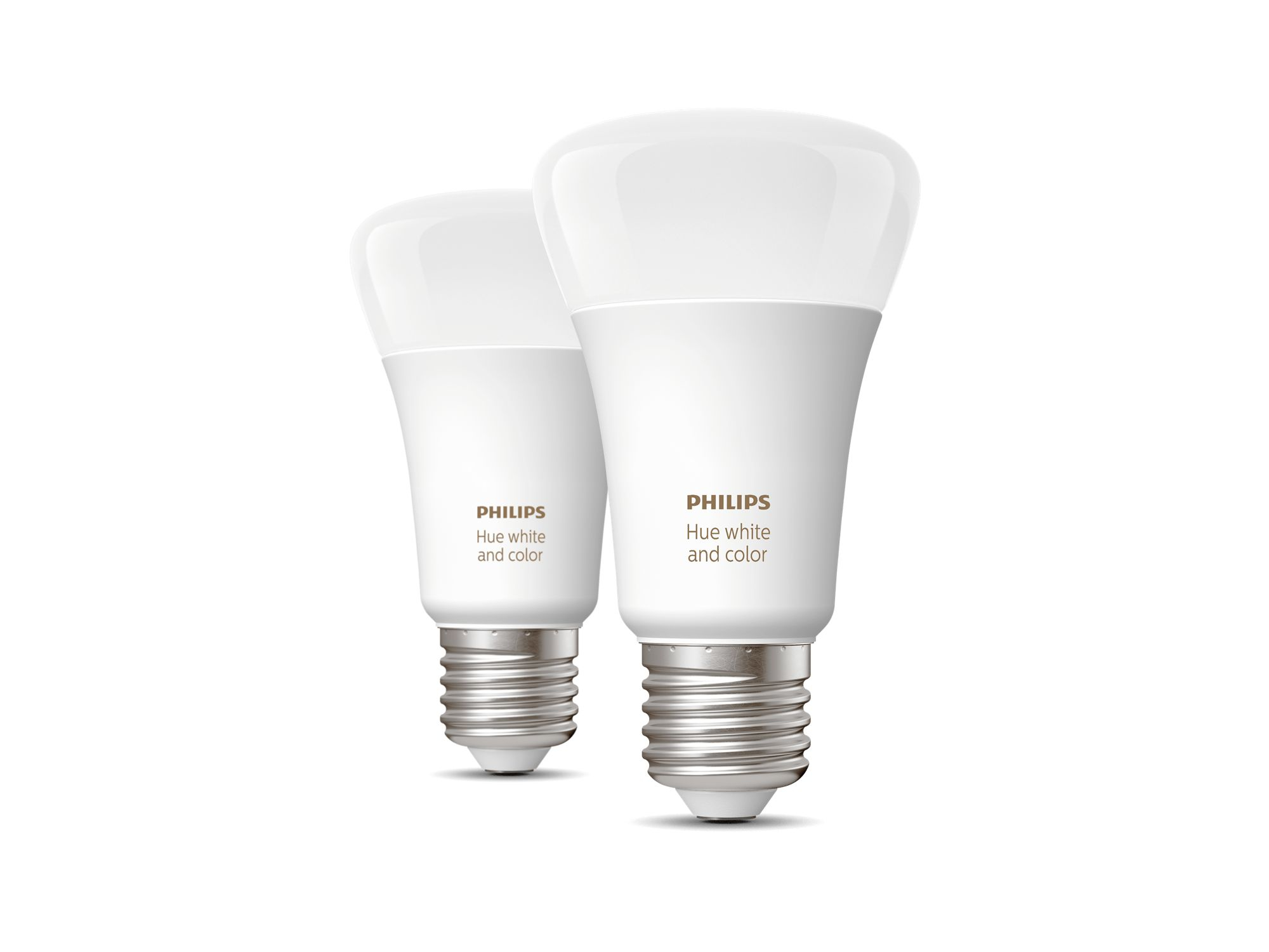 Philips Hue White and Color ambiance Pack de 2 E27