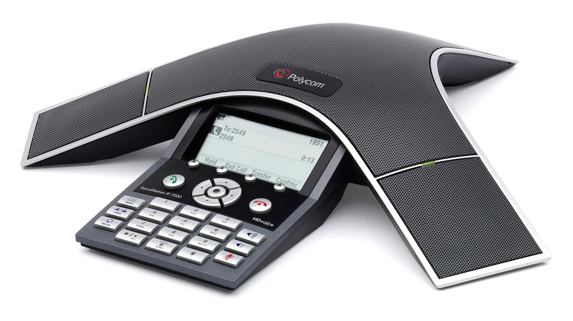 POLY SoundStation IP 7000 Black