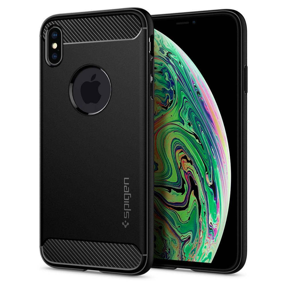"""Spigen 065CS25125 mobiele telefoon behuizingen 16,5 cm (6.5"""") Hoes Zwart"""