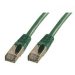 MCL FCC6ABM-3M/V cable de red Verde