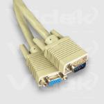 Videk SVGA M to F Coax Monitor Extension Cable 1m 1m VGA (D-Sub) VGA (D-Sub) VGA cable