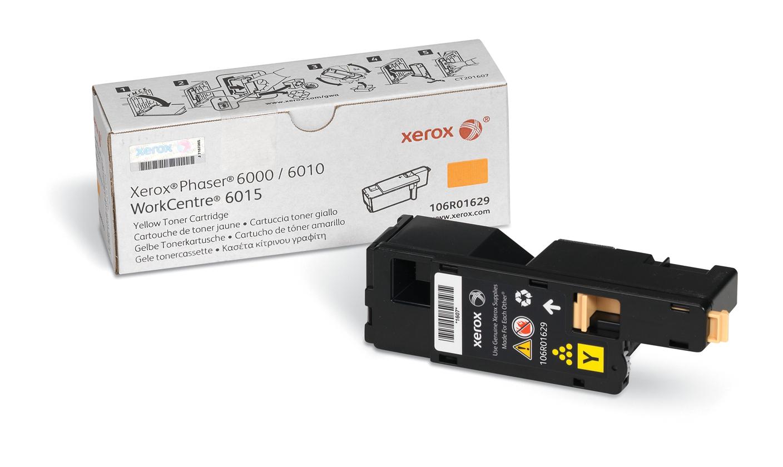 Xerox Phaser 6000/6010 / Workcentre 6015, Cartucho De Tóner Amarillo (1.000 Páginas)