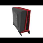 Corsair SPEC-ALPHA Midi-Tower Black,Red computer case