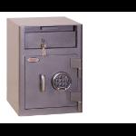 Phoenix Safe Co. Cash Deposit Size 1 Security Safe Elctrnic Lock DD Floor safe Grey 47 L