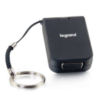 C2G Adaptador de viaje USB-C a VGA