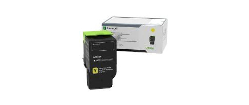 Lexmark 78C0X40 Toner yellow, 5K pages