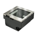 Datalogic MGLN35 ENH T/O FACT 1D/2D Fixed bar code reader 1D/2D LED Black,Silver